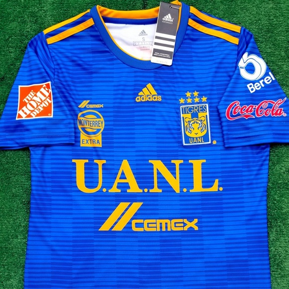 2018 Tigres UANL away soccer jersey Adidas Liga MX 60a91494c